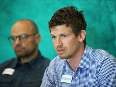 Nach Trainer Thomas Weissenböck (l.) gibt auch Franz Schiemer seinen Abschied von der SV Ried bekannt