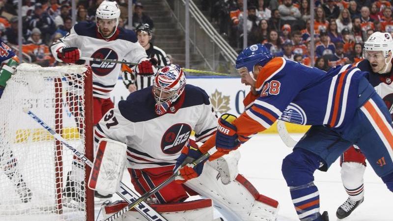 Edmonton Oilers unterliegen auch den Winnipeg Jets