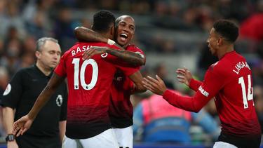 Rashford dio la victoria al United en Wembley. (Foto: Getty)