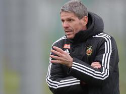 Rapid-Trainer Dietmar Kühbauer erwartet starke Altacher Mannschaft