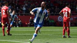 Sergi Darder anotó un doblete ante sus vecinos de Girona. (Foto: Getty)