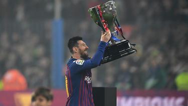 Lionel Messi führte den FC Barcelona einmal mehr zur Meisterschaft