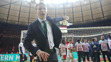 Trainer Niko Kovac holte in seinem ersten Jahr als Coach beim FCBayern München das Double