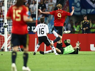In Wien legte Fernando Torres Deutschland lahm
