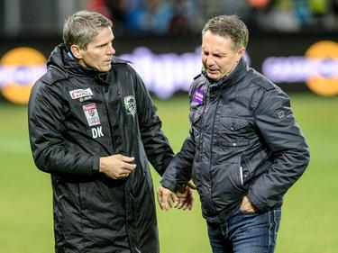 Dietmar Kühbauer und Damir Canadi gelten als Topfavoriten für den Job als neuer Rapid-Trainer