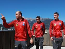 Für welchen der drei Tormänner wird sich ÖFB-Teamchef Franco Foda entscheiden?