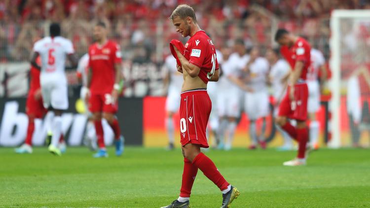 Die Unioner kassierte eine deutliche Niederlage gegen Leipzig