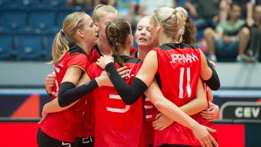 Start nach Maß für die deutschen Volleyballerinnen