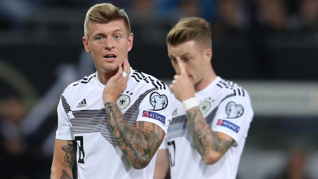 Fehlten in der FIFA-Weltauswahl: Toni Kroos und Marco Reus
