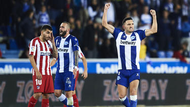 Lucas Pérez participió en el 43% de los goles del Alavés.