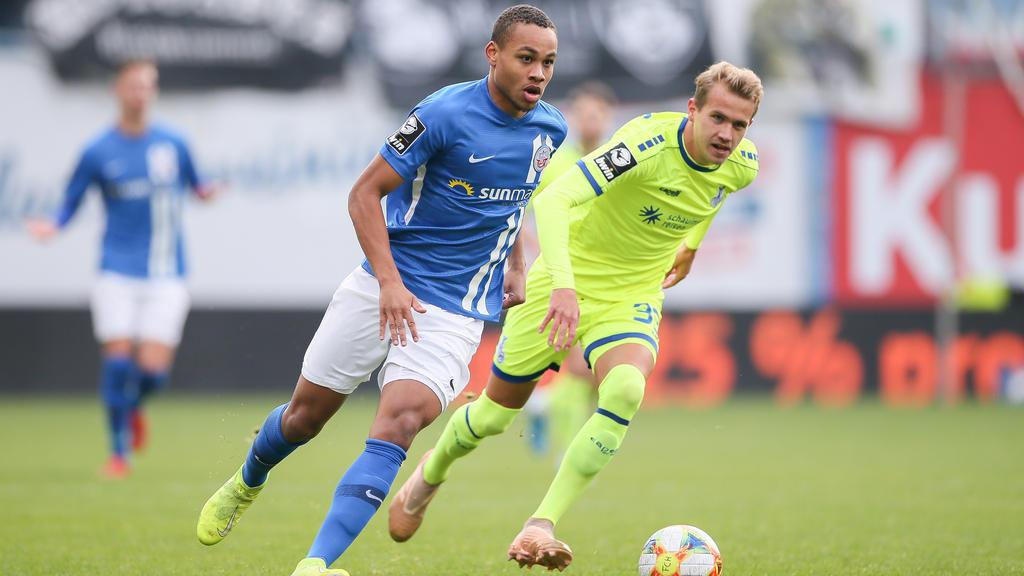Hansa Rostock musste sich im Spitzenspiel dem MSV Duisburg geschlagen geben