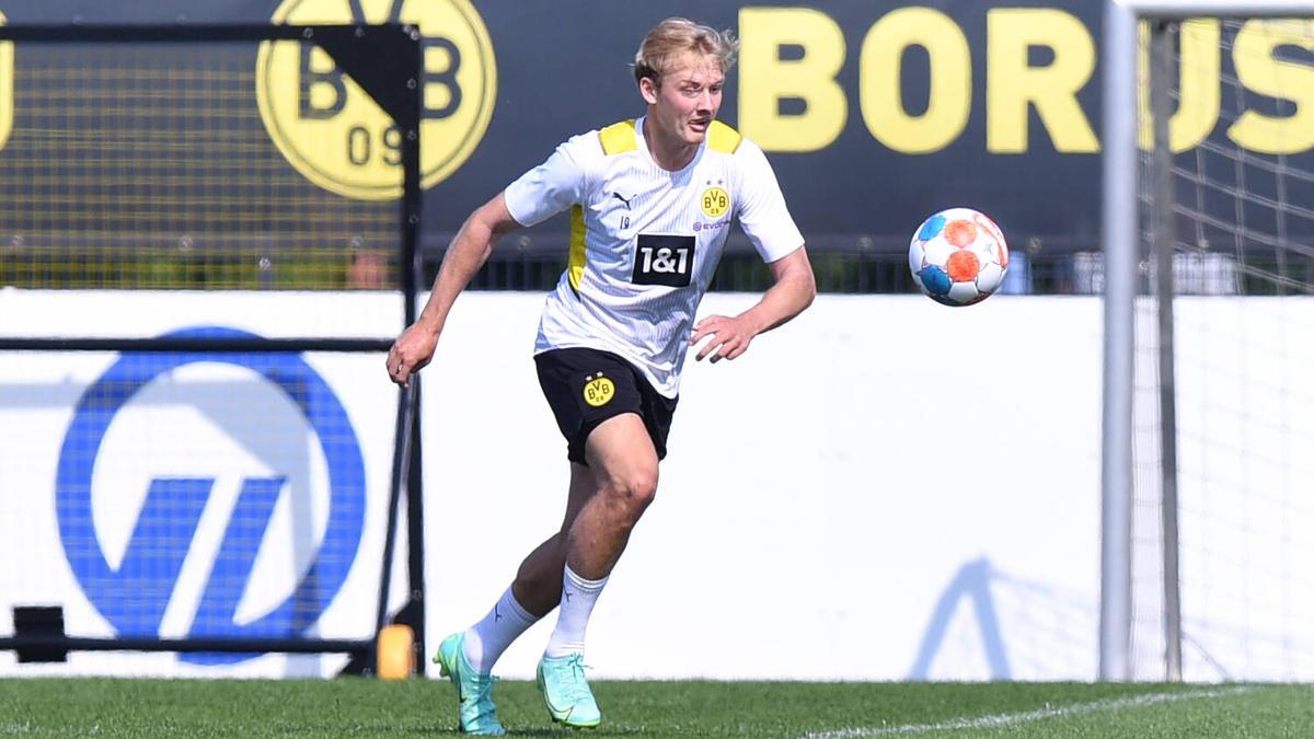Julian Brandt vom BVB wird immer wieder bei Lazio Rom gehandelt