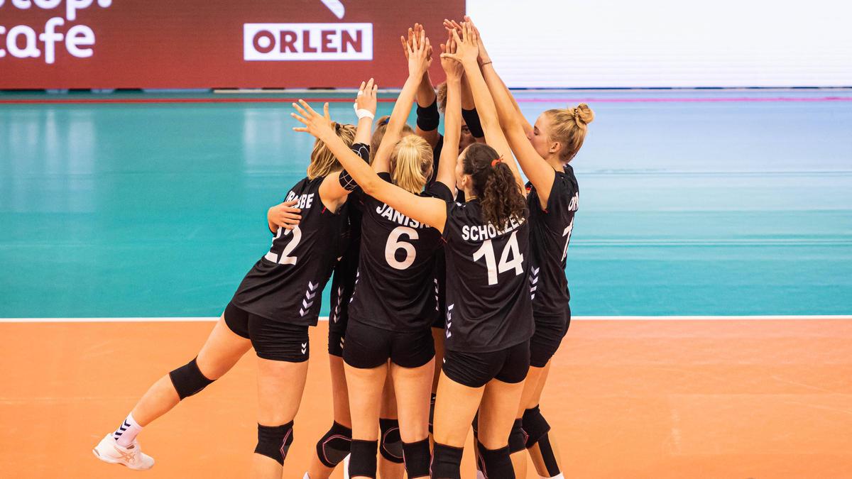 Sieg für Deutschland bei der Volleyball-EM
