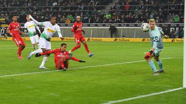 Gladbach setzte sich mit 3:1 gegen den FSV Mainz durch