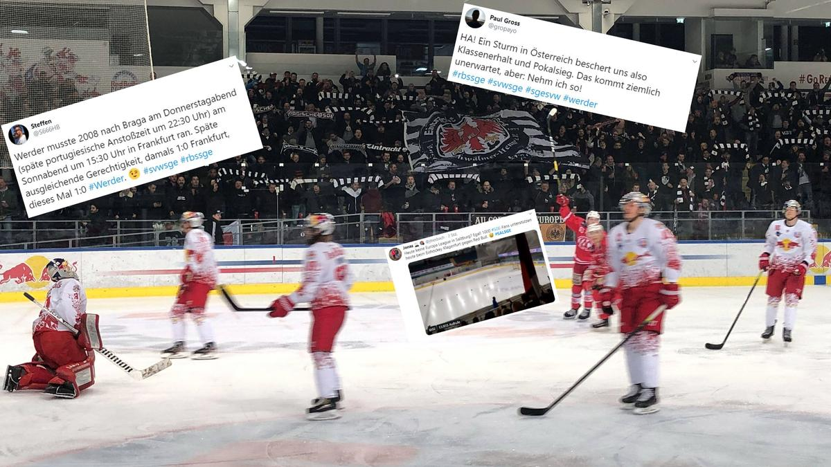 Eintracht Fans Eishockey