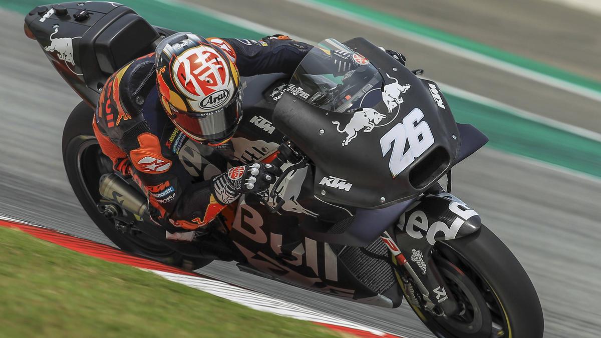 Testete für KTM in Spielberg: Dani Pedrosa