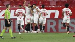 Der FC Sevilla steht im Viertelfinale der Europa League