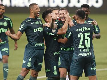 Palmeiras supo imponerse lejos de su feudo.