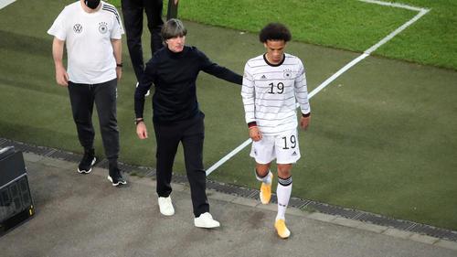 Leroy Sané wurde gegen Spanien vorzeitig ausgewechselt