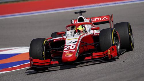 Mick Schumacher startete am Samstag nur von Platz zehn