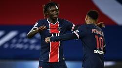 Moise Kean (l.) überzeugte gegen Dijon