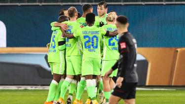 Der VfL Wolfsburg rückte auf Platz 5 der Tabelle vor