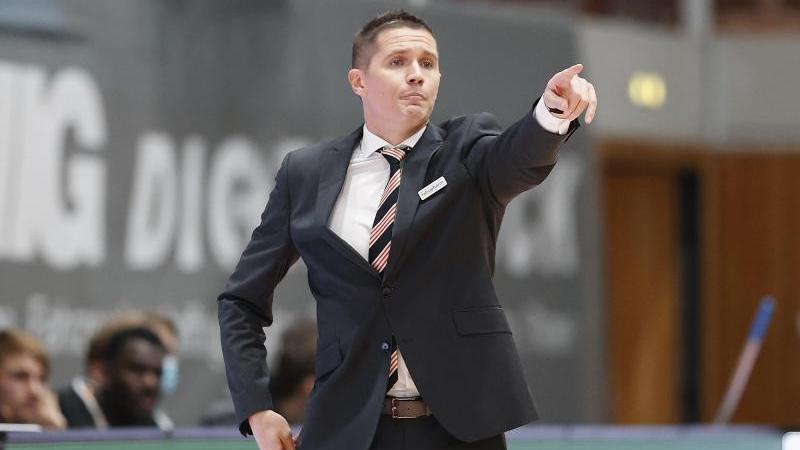 Ulms Trainer Jaka Lakovic musste sich mit seinen Mannen im Eurocup geschlagen geben