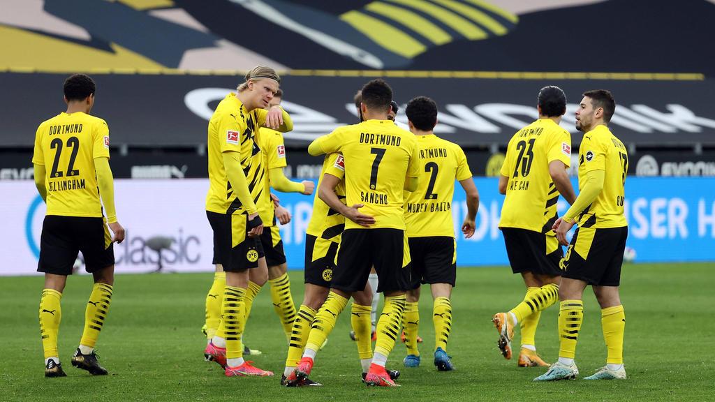 El Dortmund es uno de los candidatos al título.