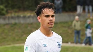 Luca Campanile wechselte 2020 in die Knappenschmiede des FC Schalke 04