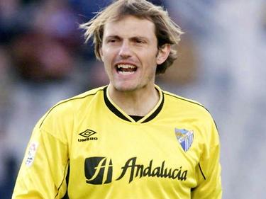 Arnau también defendió la camiseta del Málaga.