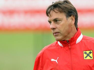 ÖFB-Nachwuchsteamchef Hermann Stadler