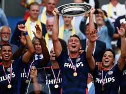 PSV Eindhoven gewann Anfang August den niederländischen Supercup gegen den FC Groningen