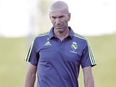Zidane vio como los suyos cayeron a manos del Getafe B. (Foto: Imago)