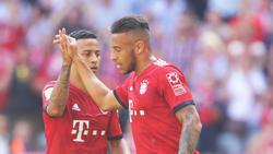 Corentin Tolisso (r.) steht vor seiner zweiten Saison beim FC Bayern