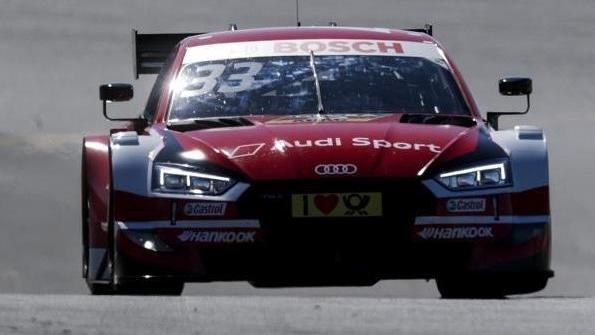 Renè Rast fuhr am Nürburgring nach dem Samstagsrennen auch am Sonntag auf Platz eins