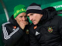 Die Ära von Goran Djuricin (r.) beim SK Rapid ist nun auch formal zu Ende