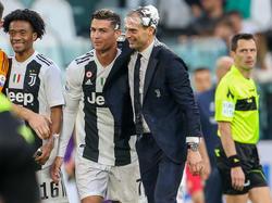 La Juventus se proclamó campeón de liga ante la Fiorentina. (Foto: Getty)