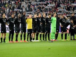 Frankfurt feiert mit den Fans