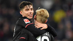 Gefragte Youngster: Kai Havertz (l.) und Julian Brandt