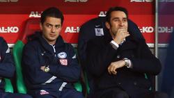 Ante Covic (li.) übernimmt den Cheftrainerposten bei Hertha BSC