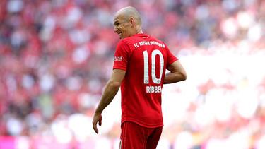 Die Zukunft von Arjen Robben ist nach dem Abgang vom FC Bayern noch offen