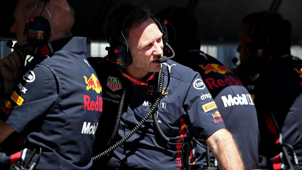 Red-Bull-Teamchef Christian Horner kann die Strafe weiterhin nicht verstehen