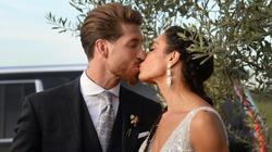 Ramos gab seiner Partnerin am Samstag das Ja-Wort