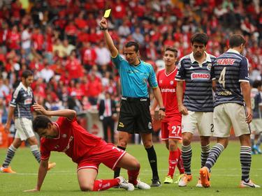 Schiedsrichter Miguel Flores stand beim Streik in Mexiko im Fokus