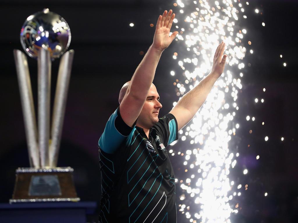 Rob Cross ist der neue Darts-Weltmeister