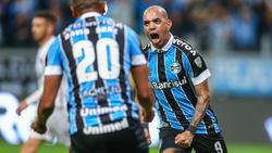 Tardello abrió el marcador en Porto Alegre.