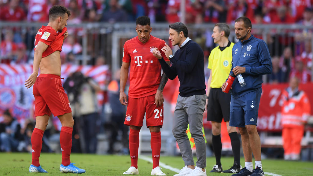 Niko Kovac feierte nach dem Sieg des FC Bayern auf der Wiesn