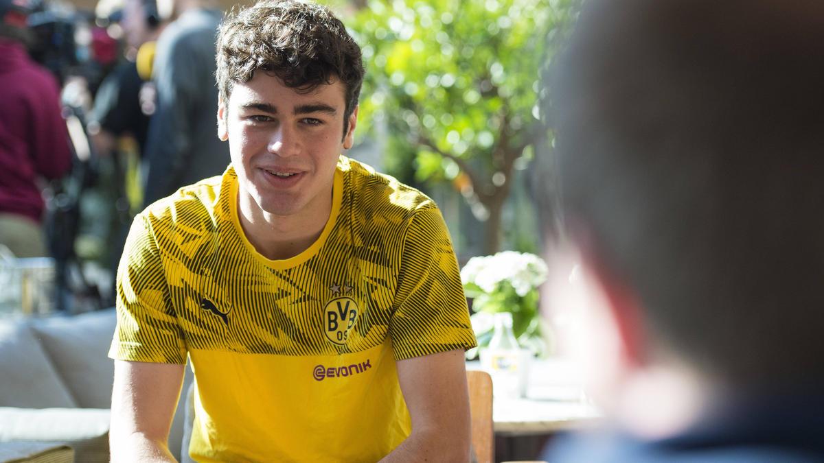 Giovanni Reyna gilt als eines der größten Talente beim BVB