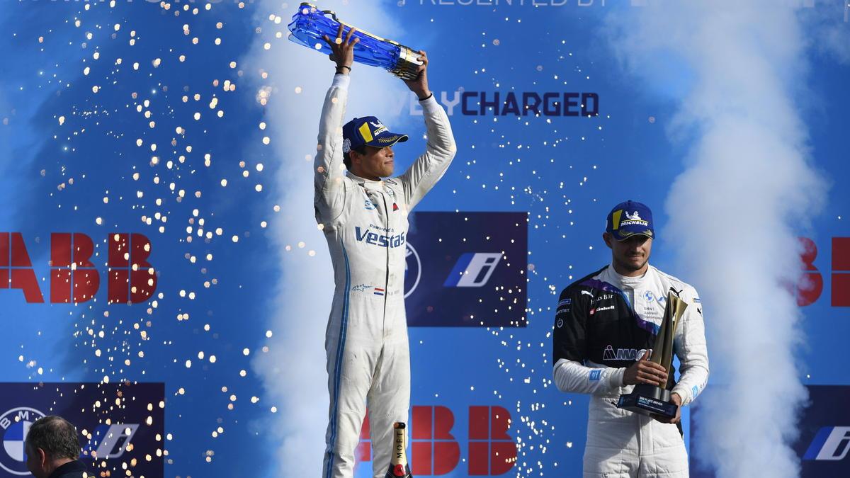 Nyck de Vries krönt sich zum Formel-E-Weltmeister