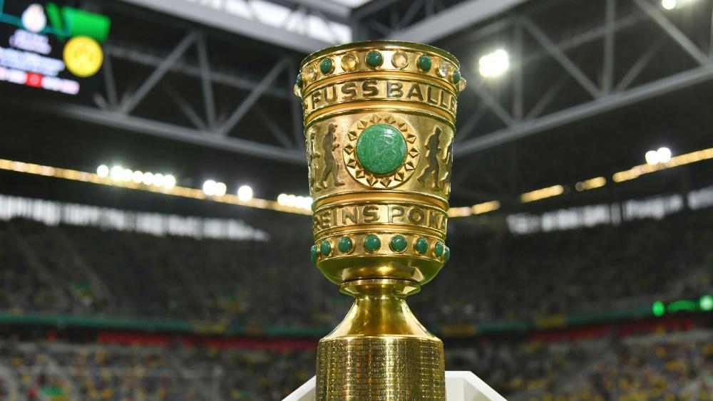 Der DFB-Pokal geht in die zweite Runde